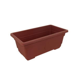 cheap terracotta look window box planter