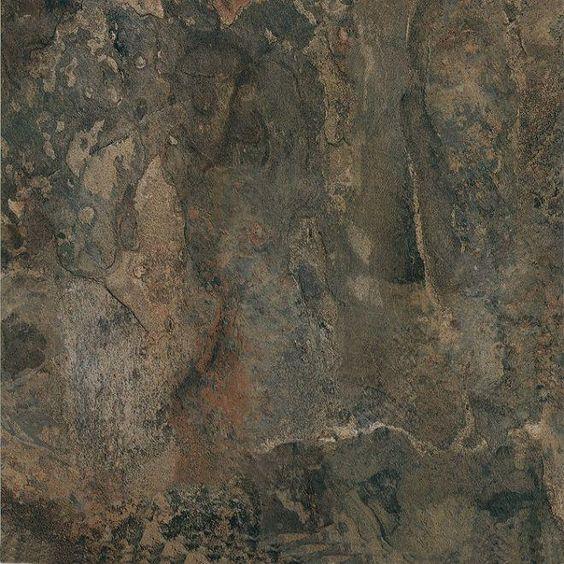 Cheap garage floor tile brazilian dark slate