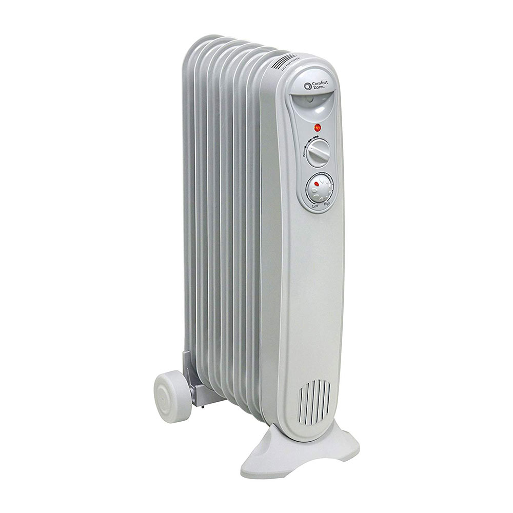 Comfort zone oil-filled radiator heater