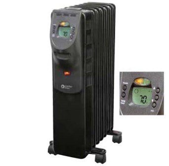 Deluxe Digital Radiator Heater