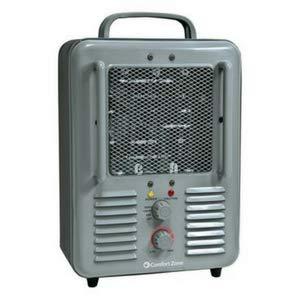 Cheap Deluxe Milkhouse Heater-Fan (Grey)
