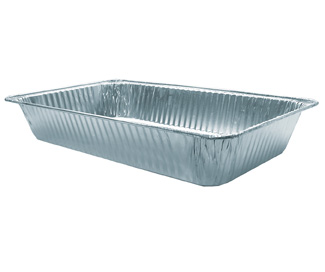 disposable foil pan - full size