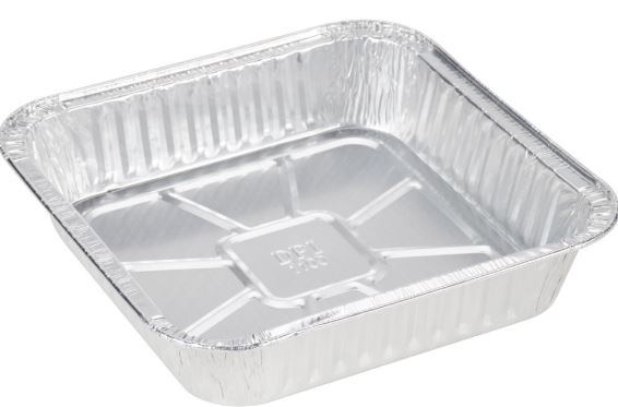 aluminum disposable cake pan