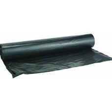 Heavy duty plastic sheeting-black