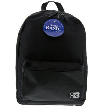 """17"""" black backpack"""