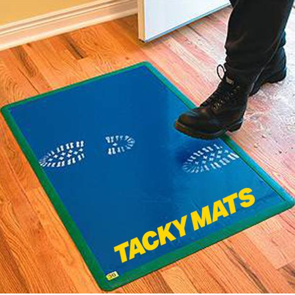 tacky mats