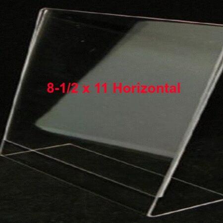 horizontal acrylic frame