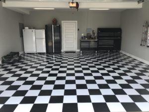 Black And White Floor Tiles Mazer
