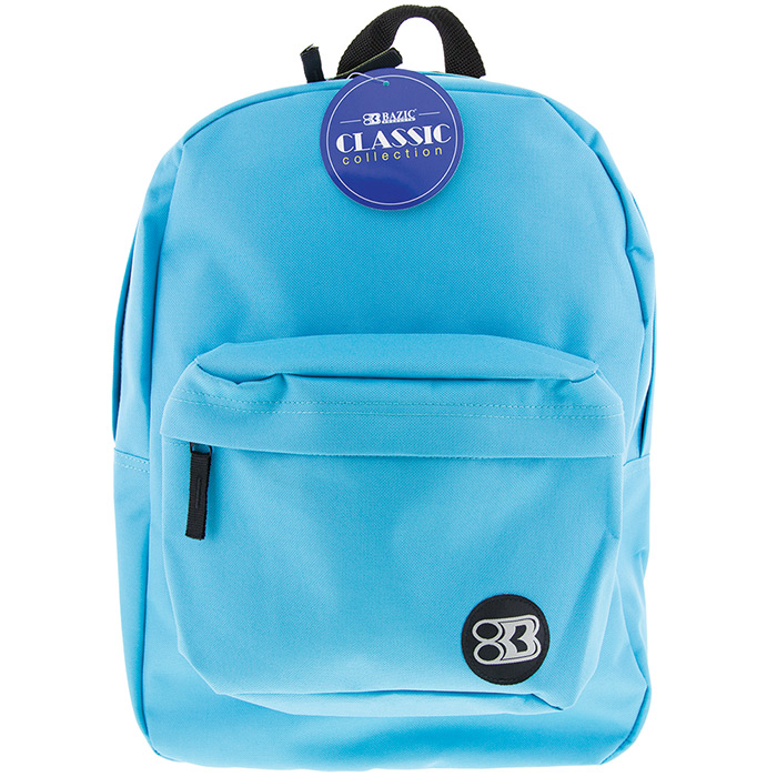 cyan backpack