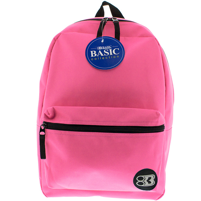 "16"" fuchsia backpack"