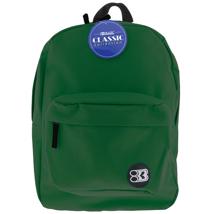 dark green backpack