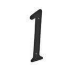 black house numbers 1