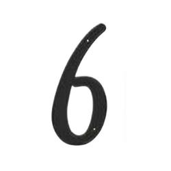 black number 6