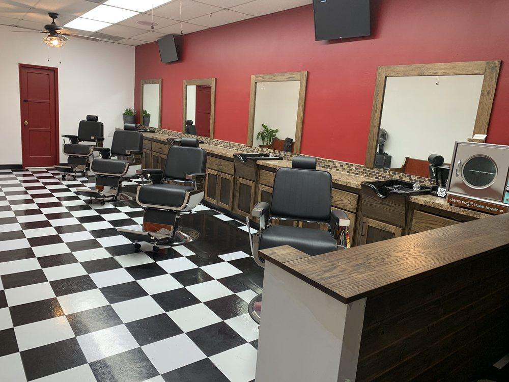 Barbershop flooring ideas