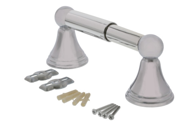 Bell Style - Satin Nickel Finish Toilet Paper Roll Holder