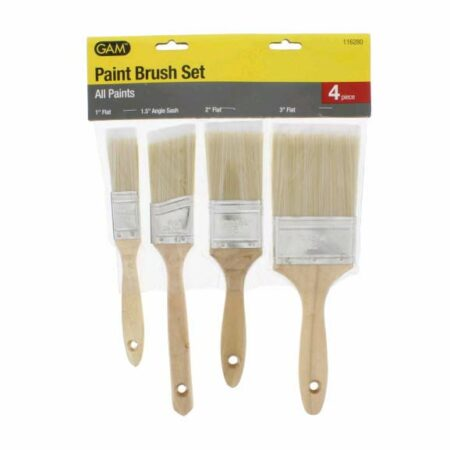 Paint Brush Set, Polyester, 4-Piece, Wholesale Price