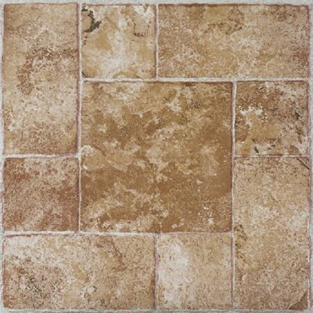 ft. PrimeHome Collection Madison Brick Pavers 12x12 Self Adhesive Vinyl Floor Tile 20 Tiles//20 sq