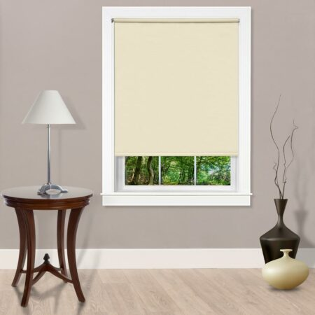 Room Darkening Shade, Cordless, Ivory