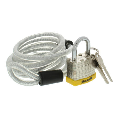 wholesale padlock and cable set