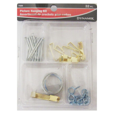 Picture Hanging Hook Assortment