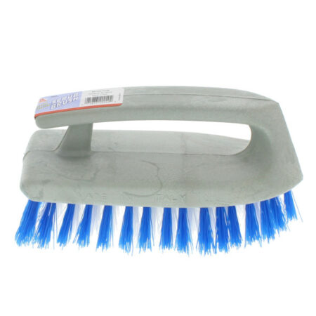 Iron Shaped Scrub Brush