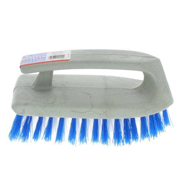Iron Shaped Scrub Brush