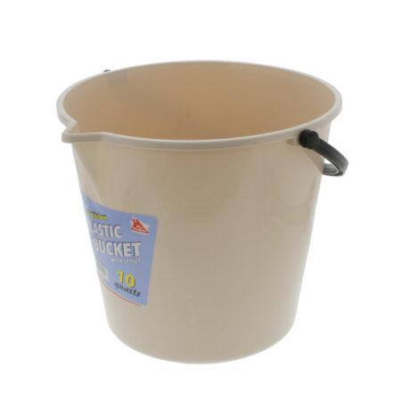 Plastic Bucket 10 Quart