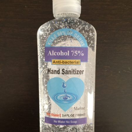 Hand Sanitizer, small bottles