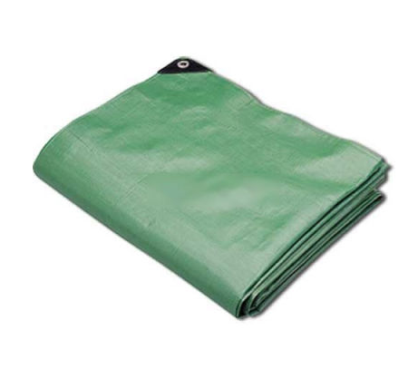 Heavy duty green tarps