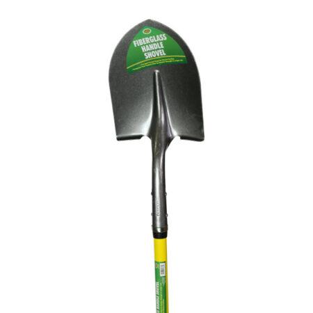 Round Point Shovel, 48 Inch Fiberglass Handle