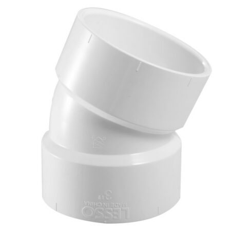 3 X 2 PVC Side Inlet Elbow