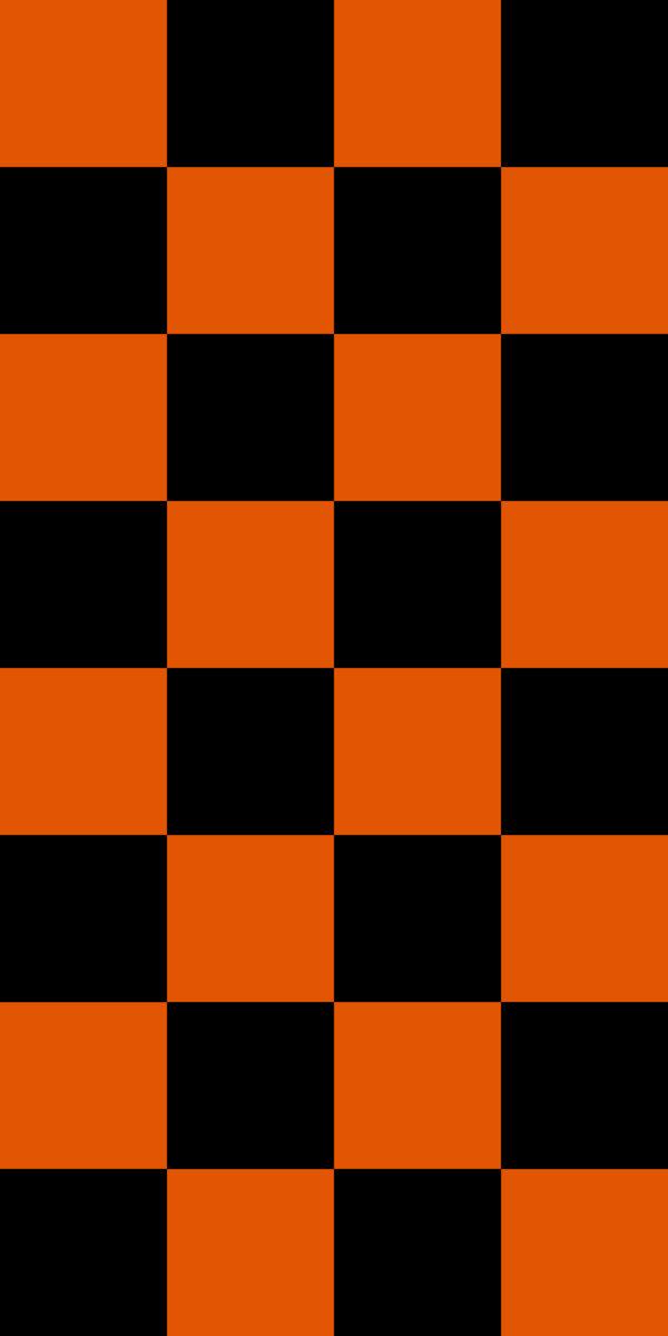 Black & Orange Vinyl Floor tile