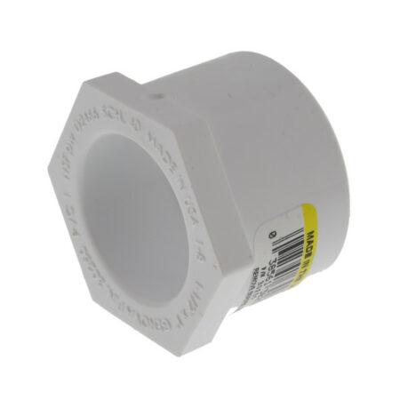 """Mazer Wholesale - PVC Bushing 1-1/2"""" x 1-1/4"""""""