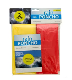 Poncho 2-pack